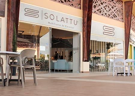 Showroom y sala de ventas Solattu