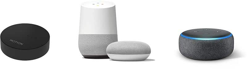Alexa google home devices